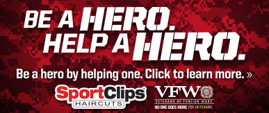Sport Clips Shoppes at Riverdale Coon Rapids​ Help a Hero Campaign